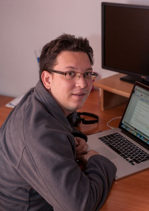 Rafael Caricio, our new developer