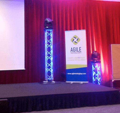 Agile Testing Days stage