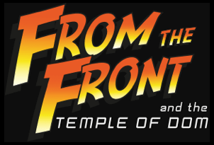 From the Front and the Temple of DOM logo
