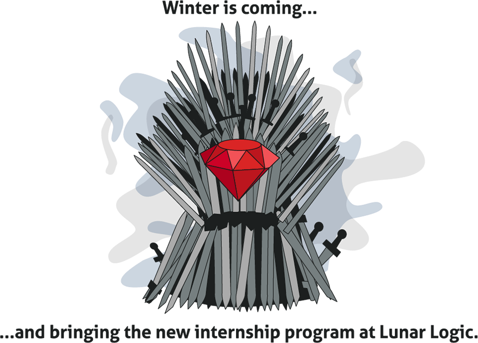 Lunar Logic internship teaser - the Iron Throne and a ruby