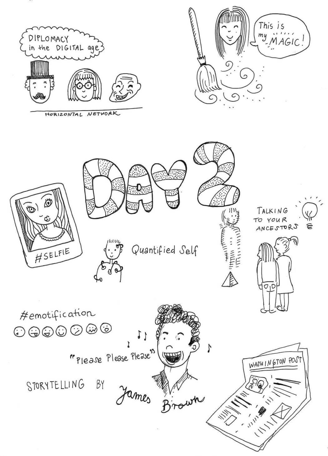Illustrated notes from Web Summit Day 2