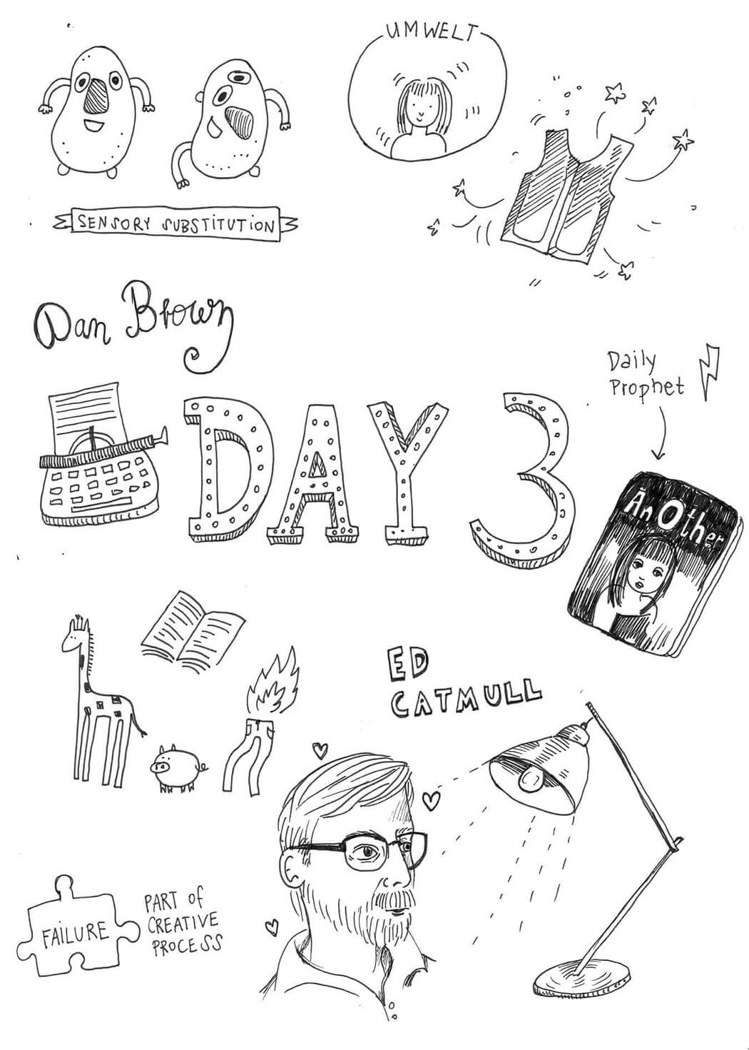 Illustrated notes from Web Summit Day 3